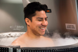 cryotherapy being used