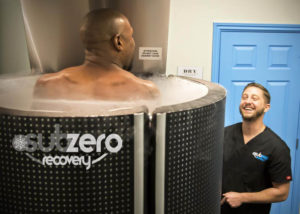 floyd using cryotherapy